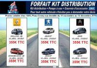 Chez 100% pneu Croisy-sur-Andelle, promotion sur votre distribution