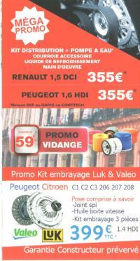 Promotion distribution et embrayage chez 100% Pneu Croisy-sur-Andelle